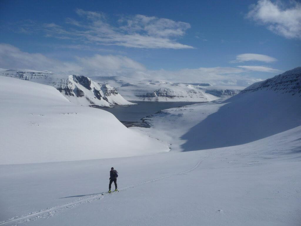 Skitour Westfjorde Sonne