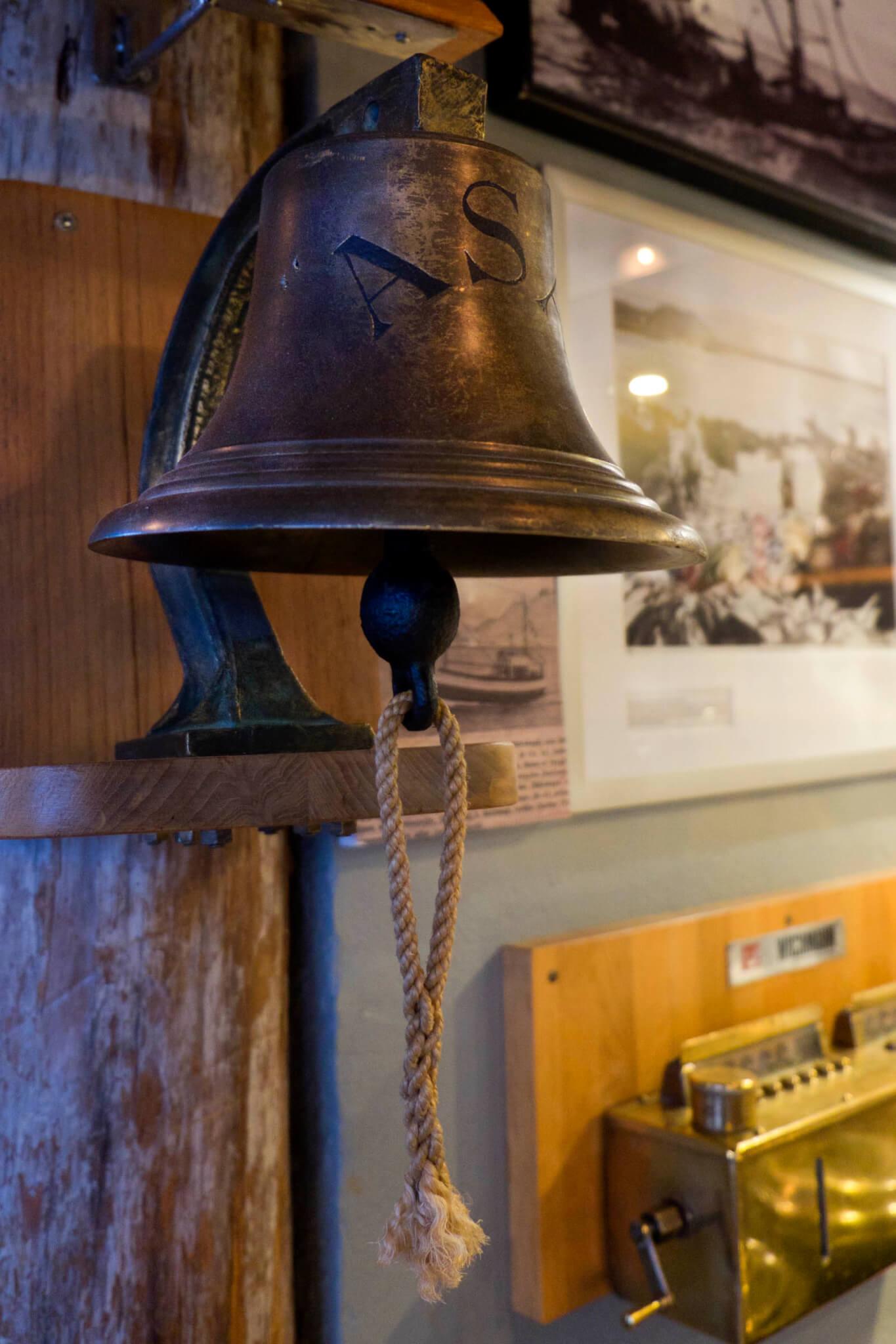 Schiffsglocke Café Bryggjan