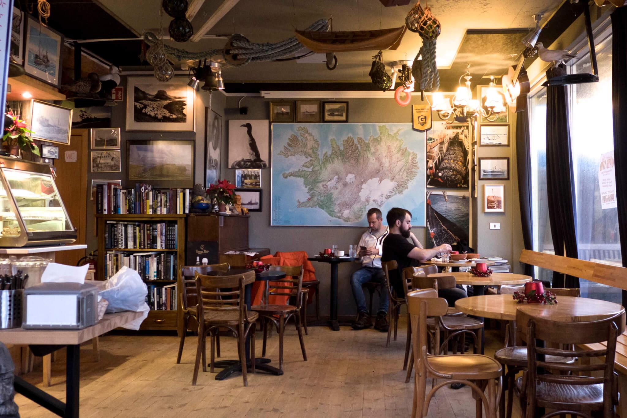 Cafe Kaffihús Bryggjan Grindavík