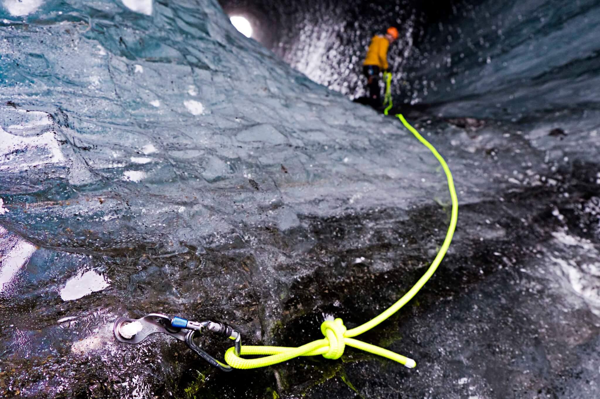 Island Gletscherhöhle Sicherheit