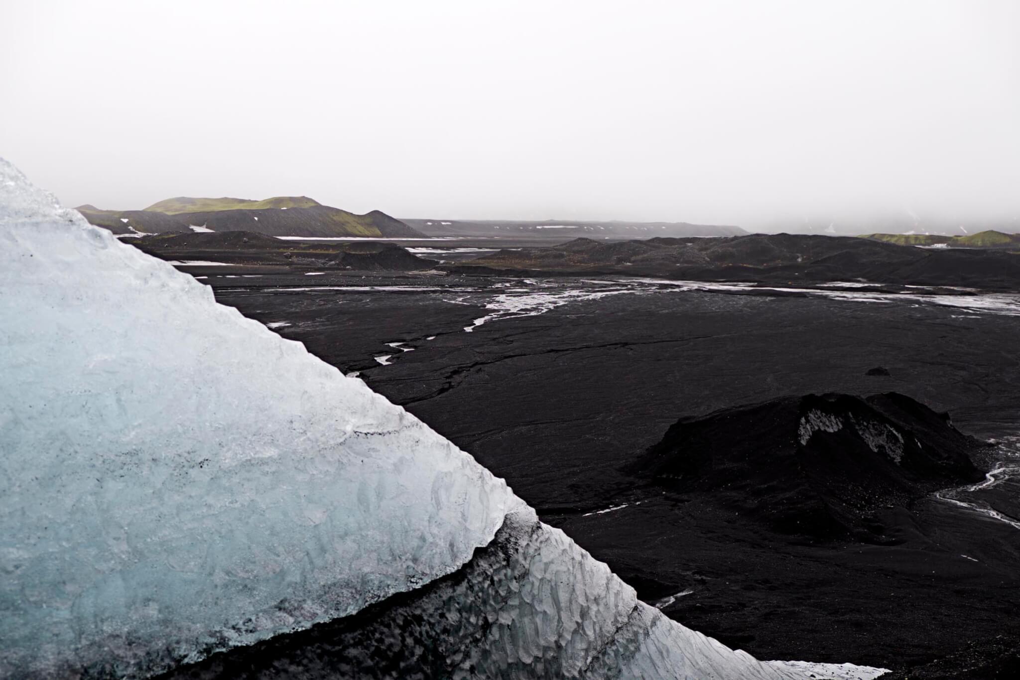 Island Eishöhle Landschaft