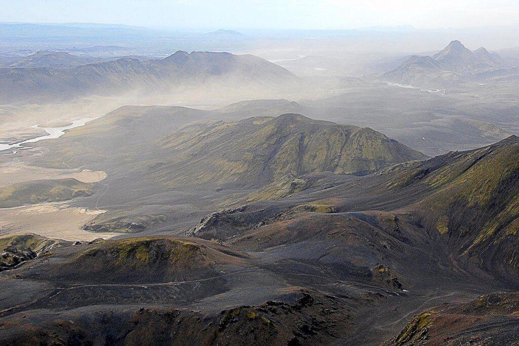 Sandsturm in Island