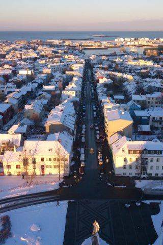 Wetter Island Winter Reykjavík