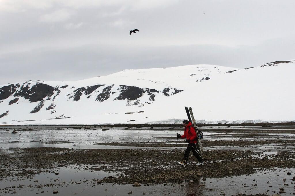 Skitour Meer Fjord