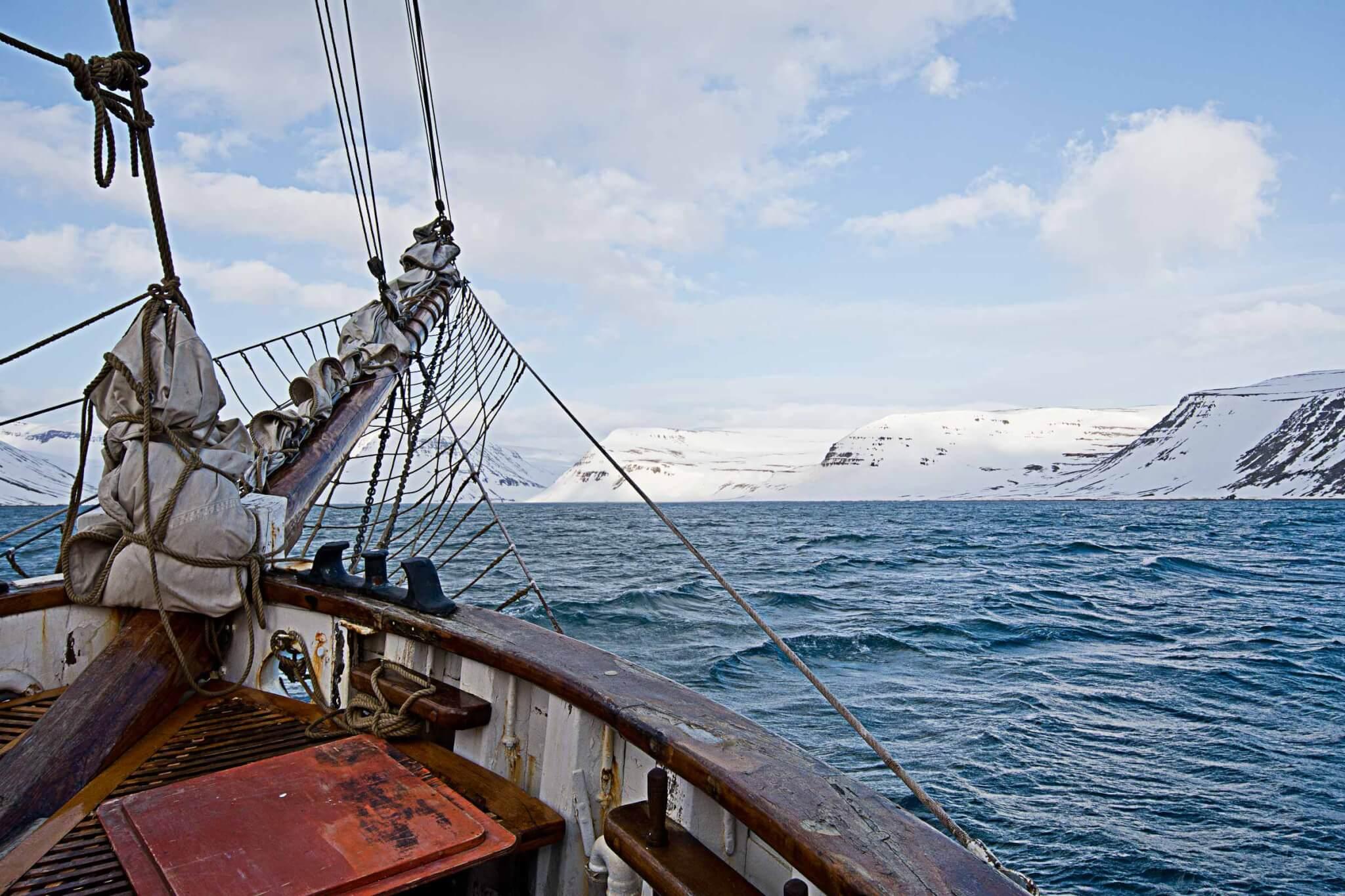 Skitour Gletscherfjorde