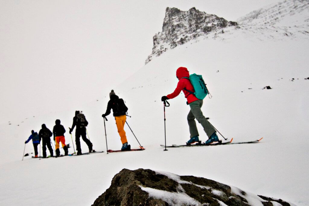 Skitour Westfjorde