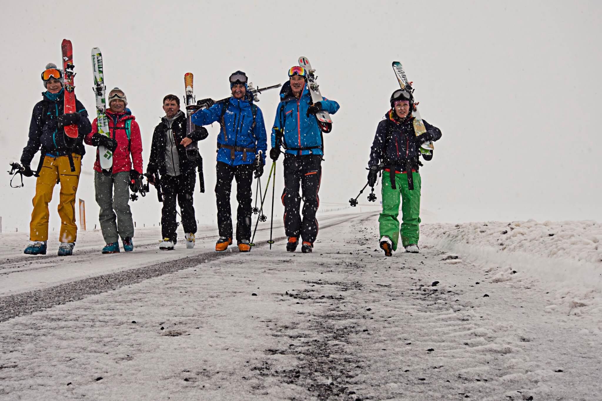 Skitour Roadtrip