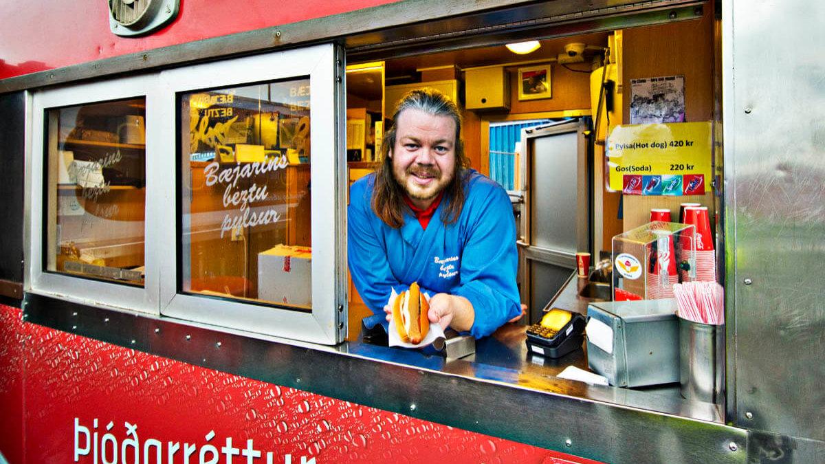 Essen Skúli Hot-Dog Reykjavík