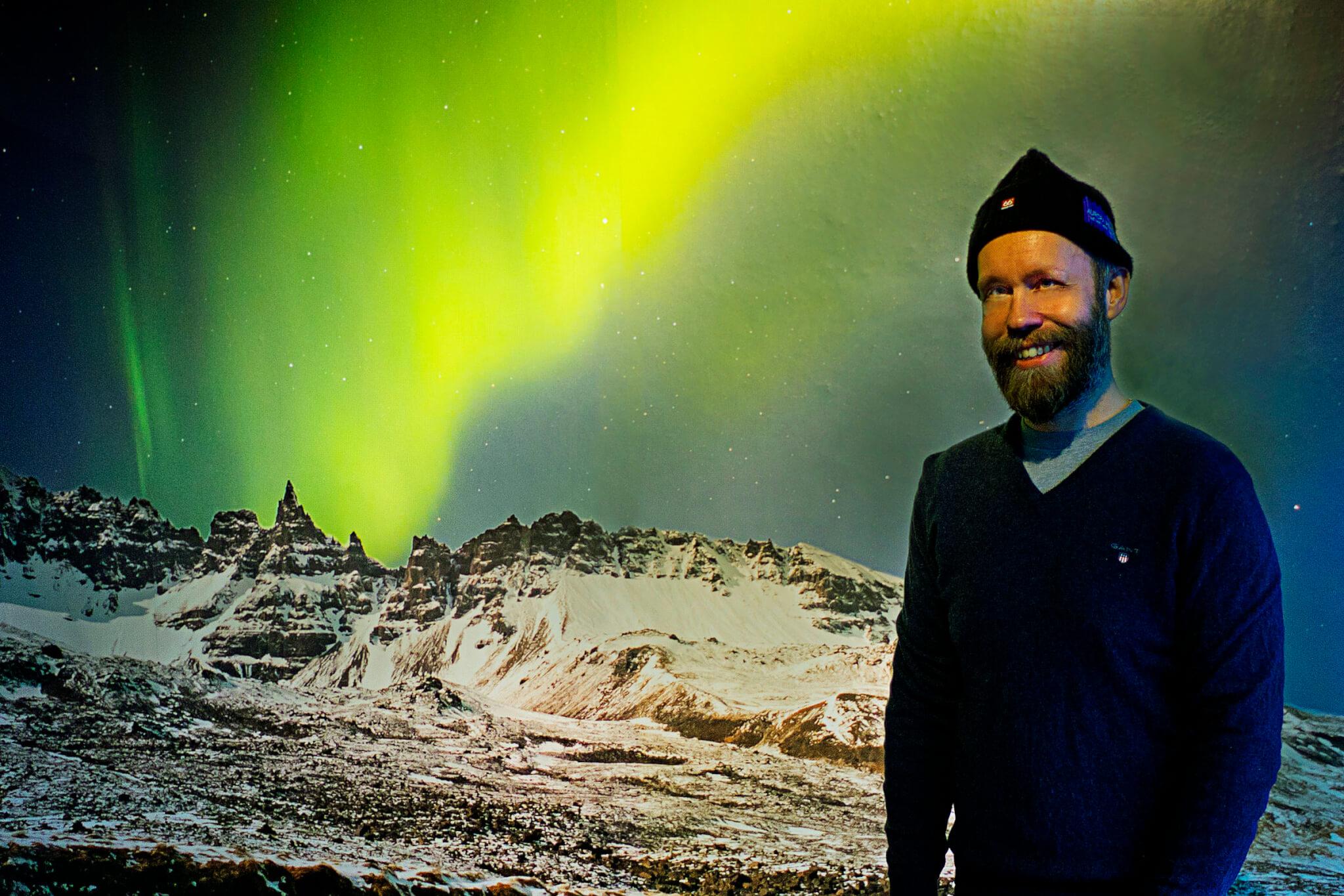 Grétar Aurora Reykjavik Northern Lights Center