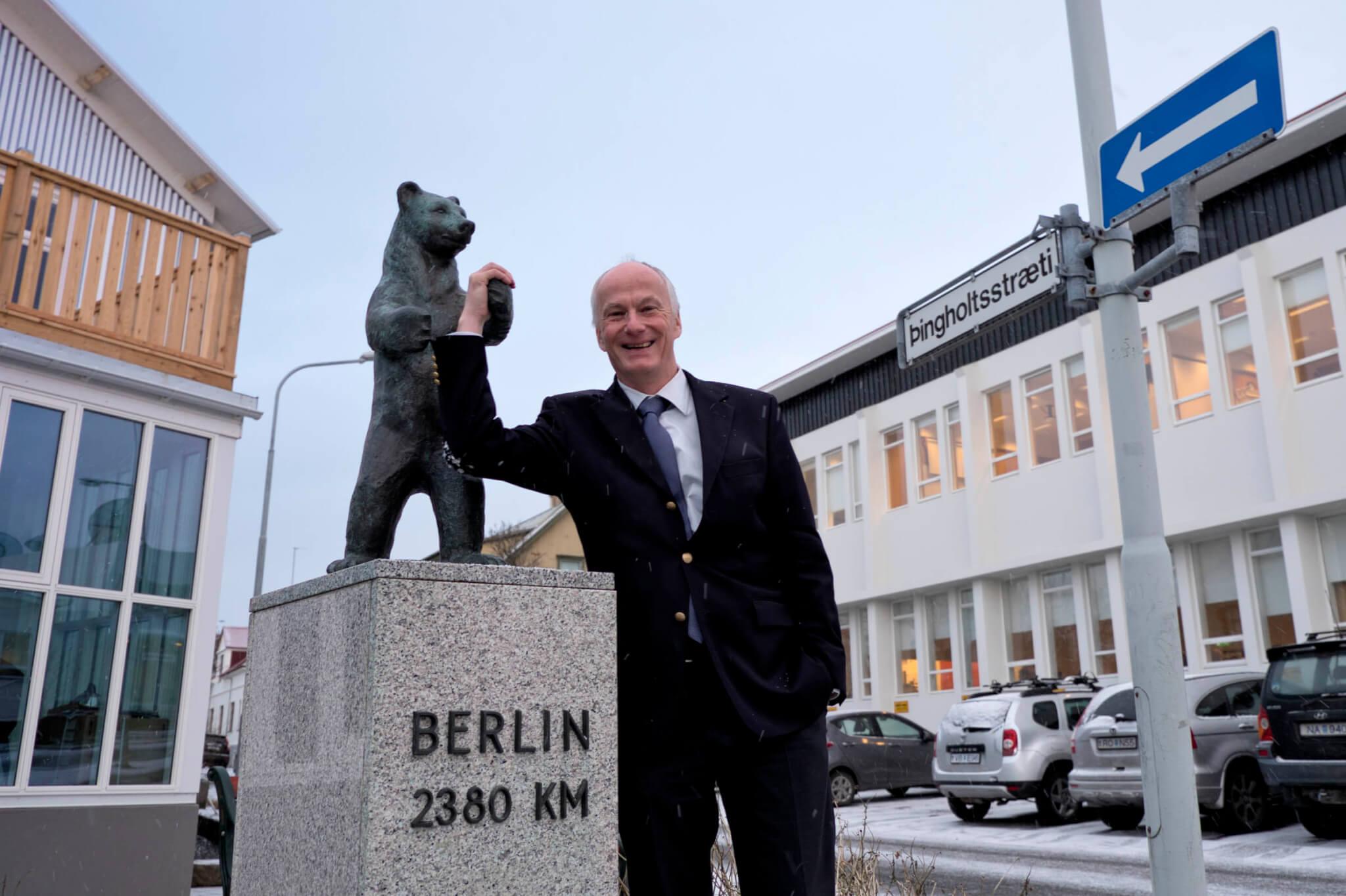 Berliner Bär Botschaft Reykjavík