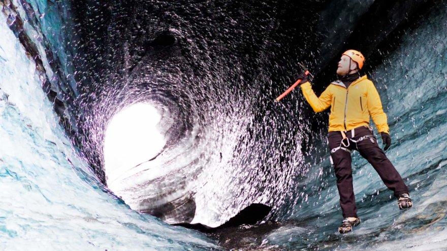 Island Gletscherhöhle Guide