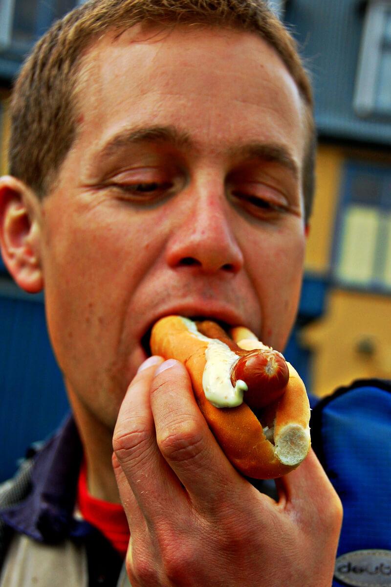 Essen Ingo Hot-Dog Reykjavík