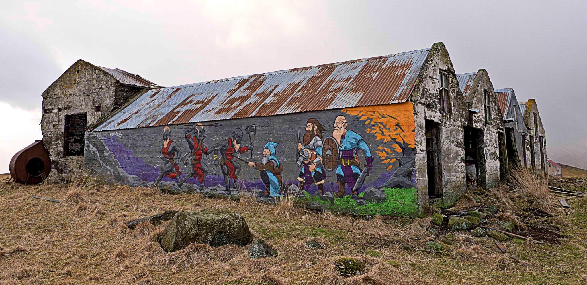 Island Graffiti Streetart
